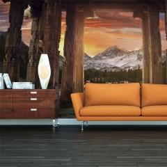 Artgeist XXL Tapete - Trail of rocky temples