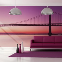 Artgeist XXL Tapete - Bucht - San Francisco