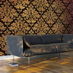 Artgeist XXL Tapete - Golden Baroque