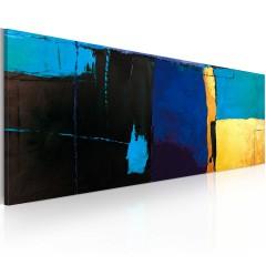 Artgeist Gemaltes Bild - Faszinierendes Himmelblau