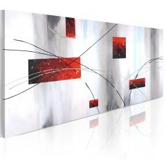 Artgeist Gemaltes Bild - Geometrische Manifestation