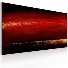 Artgeist Gemaltes Bild - Roter Lippenstift