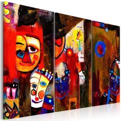 Artgeist Gemaltes Bild - Abstract Carnival