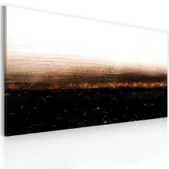 Artgeist Gemaltes Bild - Black soil (Abstraction)