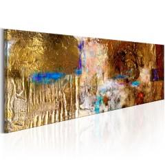 Artgeist Gemaltes Bild - Golden Structure