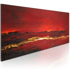 Artgeist Gemaltes Bild - Roter Ozean