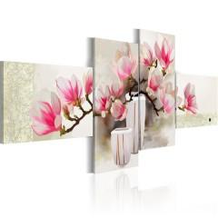 Artgeist Gemaltes Bild - Duft von Magnolien