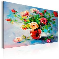 Artgeist Gemaltes Bild - Beautiful Roses