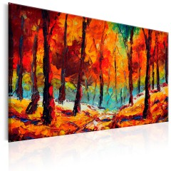 Artgeist Gemaltes Bild - Artistic Autumn