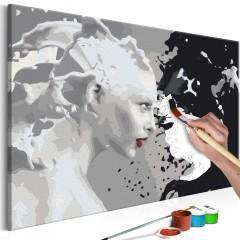 Artgeist Malen nach Zahlen - Black & White