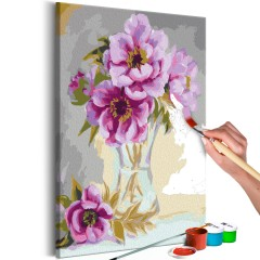 Artgeist Malen nach Zahlen - Blumen in der Vase