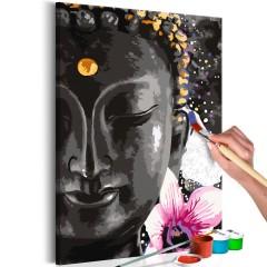 Artgeist Malen nach Zahlen - Buddha and Flower