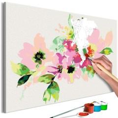 Artgeist Malen nach Zahlen - Bunte Blumen