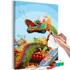 Artgeist Malen nach Zahlen - Colourful Dragon