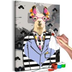 Artgeist Malen nach Zahlen - Crazy Alpaca