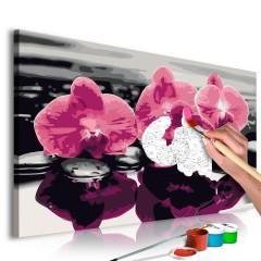 Artgeist Malen nach Zahlen - Drei Orchideen