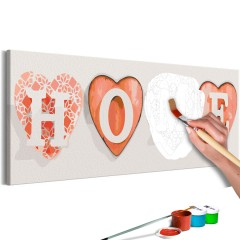 Artgeist Malen nach Zahlen - Four Hearts