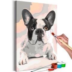 Artgeist Malen nach Zahlen - Französische Bulldogge