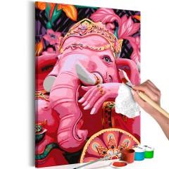 Artgeist Malen nach Zahlen - Ganesha