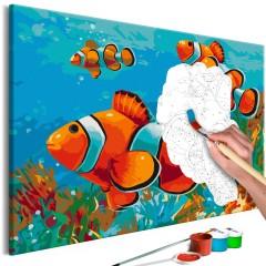Artgeist Malen nach Zahlen - Gold Fishes