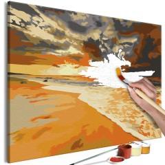 Artgeist Malen nach Zahlen - Goldener Strand