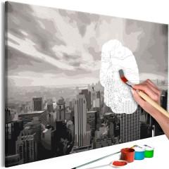 Artgeist Malen nach Zahlen - Grey New York