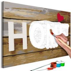Artgeist Malen nach Zahlen - Home with Heart