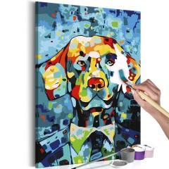 Artgeist Malen nach Zahlen - Hund (Porträt)