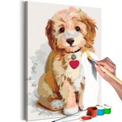 Artgeist Malen nach Zahlen - Hund (Welpe)