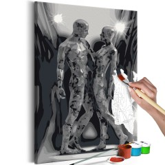 Artgeist Malen nach Zahlen - Liebespaar