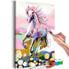 Artgeist Malen nach Zahlen - Märchenhaftes Pferd