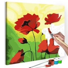 Artgeist Malen nach Zahlen - Mohnblumen