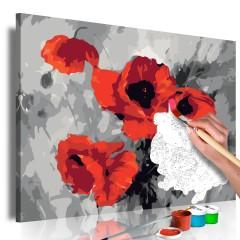 Artgeist Malen nach Zahlen - Mohnblumenstrauß