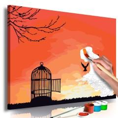 Artgeist Malen nach Zahlen - Open Cage