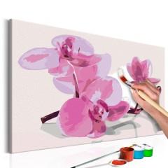 Artgeist Malen nach Zahlen - Orchideenblüten