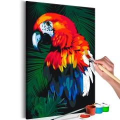 Artgeist Malen nach Zahlen - Papagei