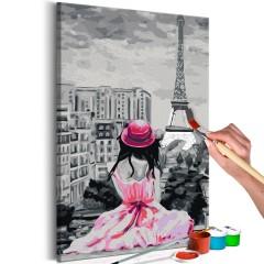 Artgeist Malen nach Zahlen - Paris - Aussicht auf den Eiffelturm