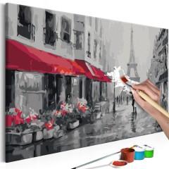 Artgeist Malen nach Zahlen - Paris im Regen