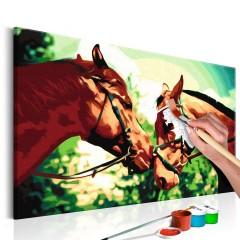 Artgeist Malen nach Zahlen - Pferde