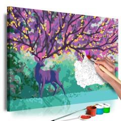 Artgeist Malen nach Zahlen - Purple Deer