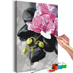 Artgeist Malen nach Zahlen - Rosarote Orchidee