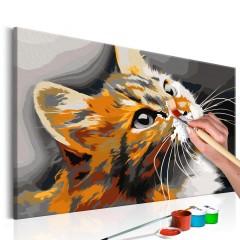 Artgeist Malen nach Zahlen - Rote Katze