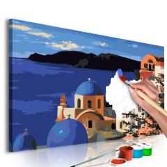 Artgeist Malen nach Zahlen - Santorini