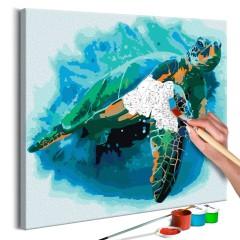 Artgeist Malen nach Zahlen - Schildkröte