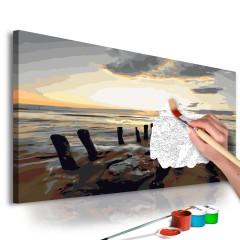 Artgeist Malen nach Zahlen - Strand (Sonnenaufgang)