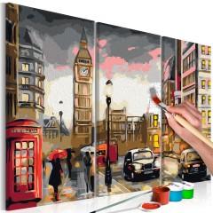 Artgeist Malen nach Zahlen - Straßen von London