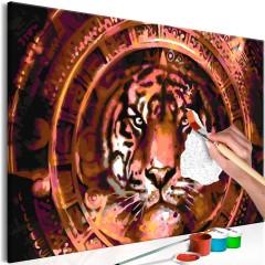 Artgeist Malen nach Zahlen - Tiger and Ornaments