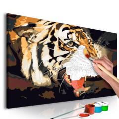 Artgeist Malen nach Zahlen - Tigergebrüll