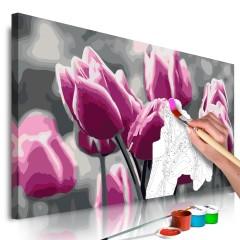 Artgeist Malen nach Zahlen - Tulpenfeld