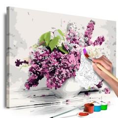 Artgeist Malen nach Zahlen - Vase and Flowers